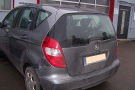Mercedes A-Klasse – Schadenaufnahme