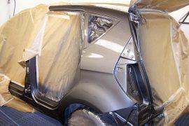Mercedes A-Klasse – Neuteil lackiert