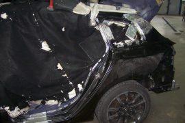Renault Laguna – Neuteil eingeschweisst und verschwemmt