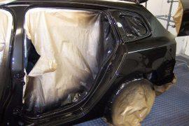 Renault Laguna – Fahrzeugseite und Teile lackiert