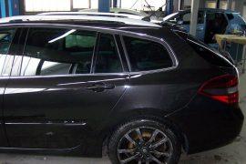 Renault Laguna – Fahrzeug fertig montiert